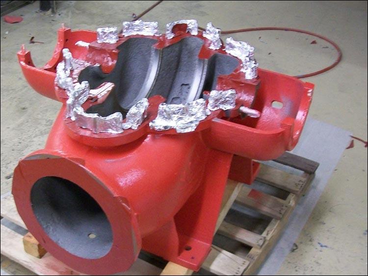Fireboat Fire Pump Repair -
